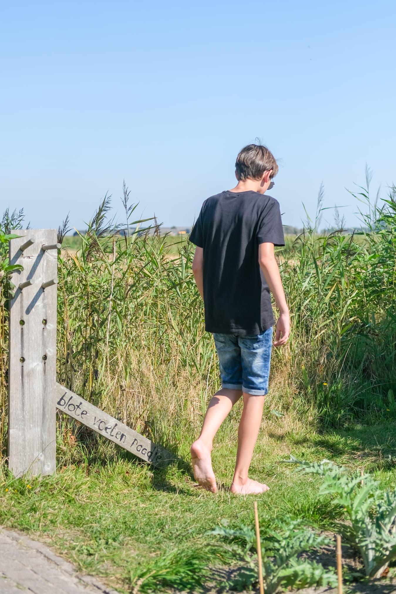 blote voeten pad vakantie