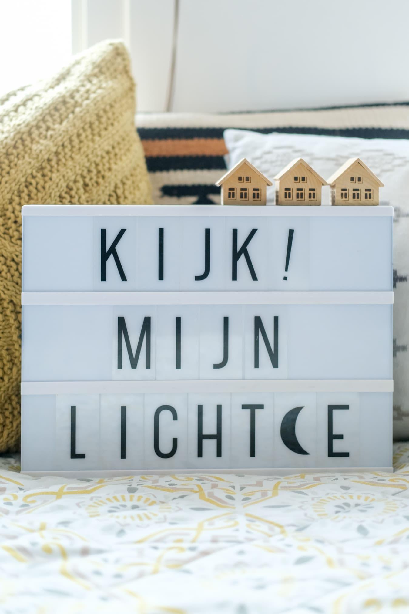 lightbox tekst sint maarten