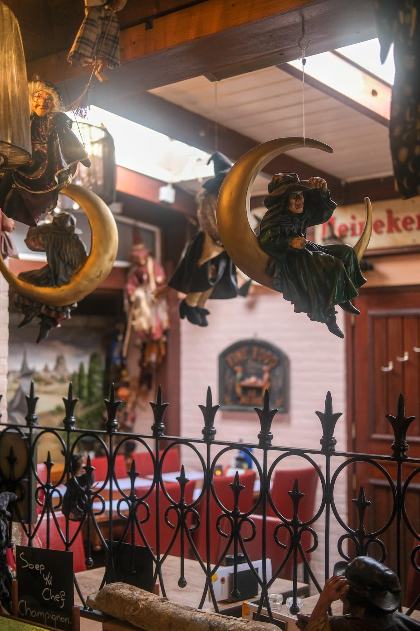 heksen thema restaurant kinderen