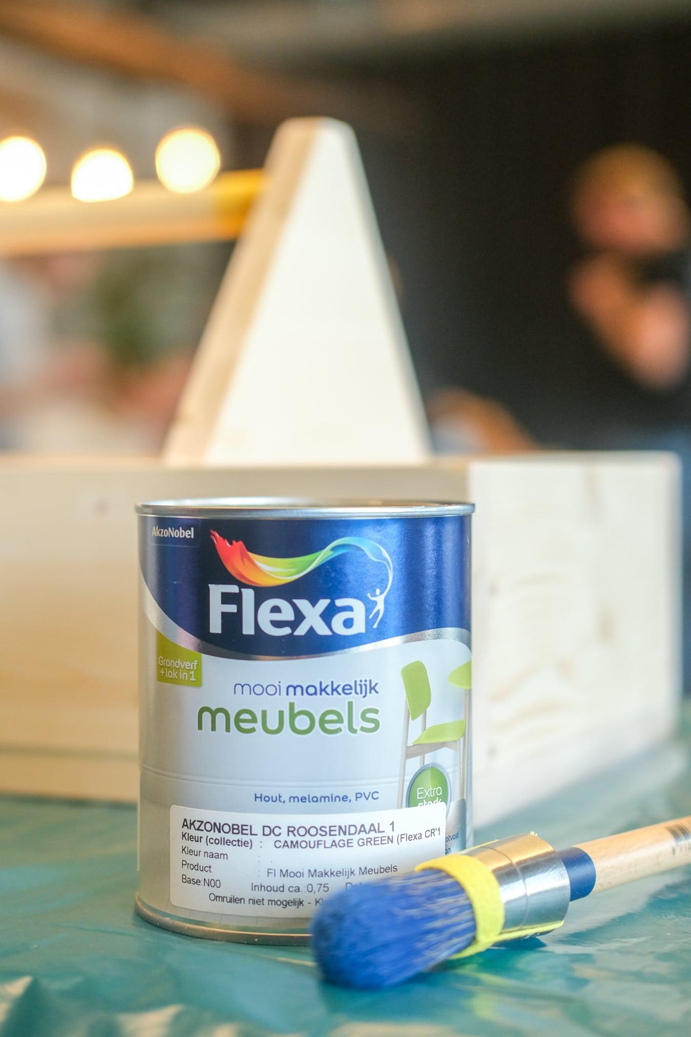 toolbox verven met flexa mooi makkelijk