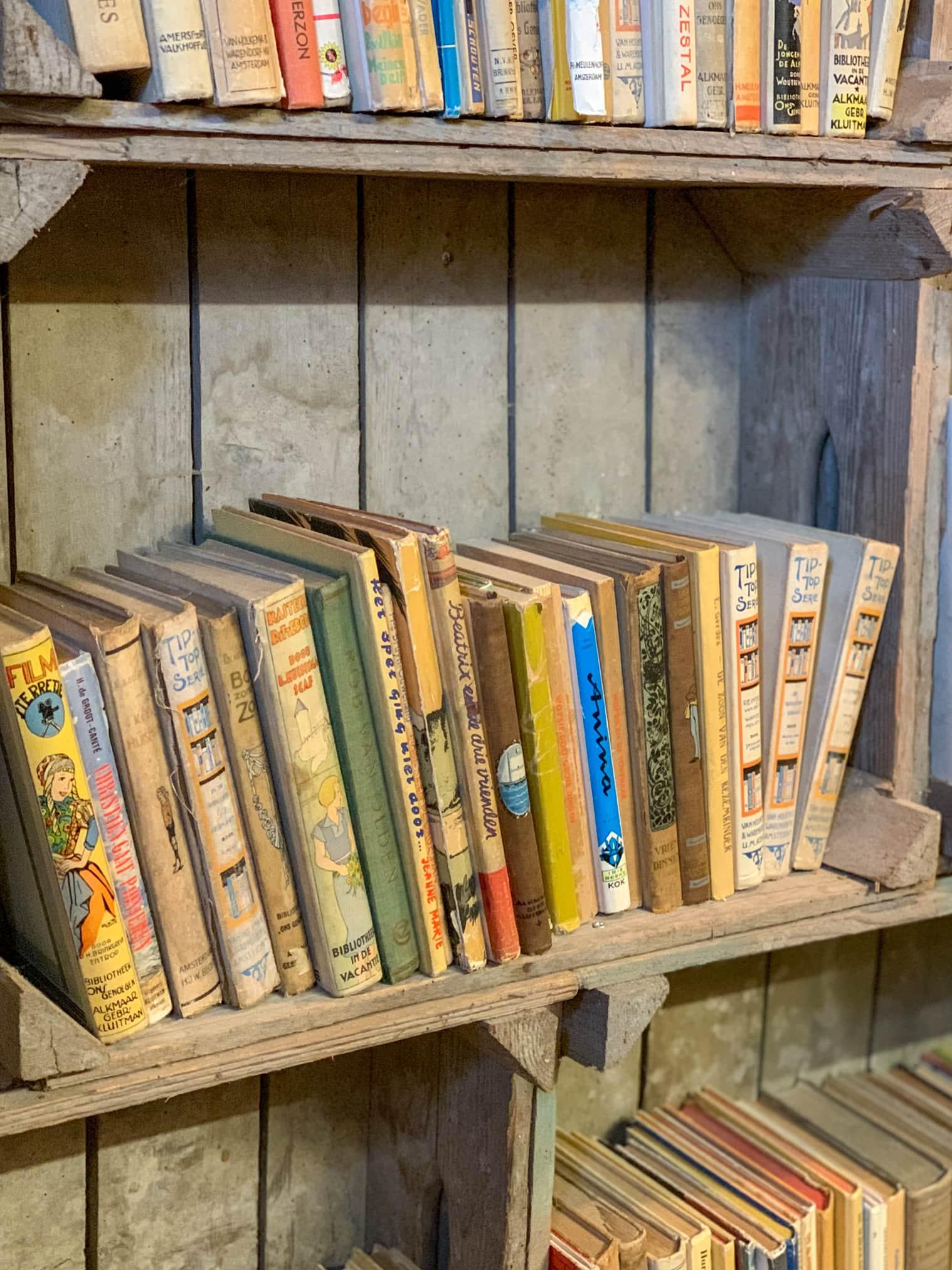 tweedehands boeken op terschelling