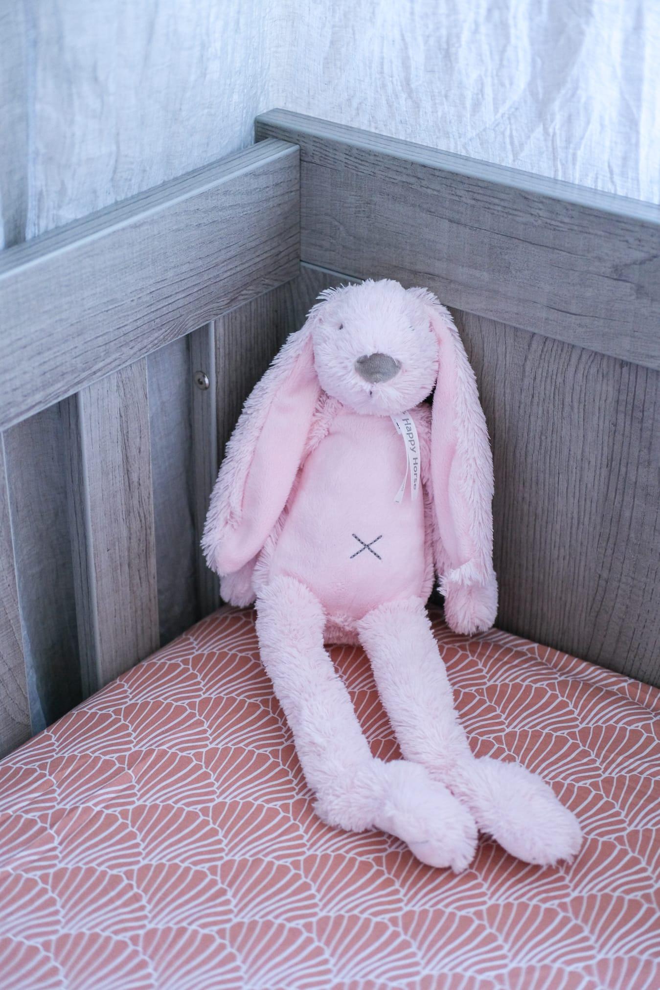 roze konijn jellycat