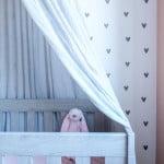 histor kleur katje babykamer