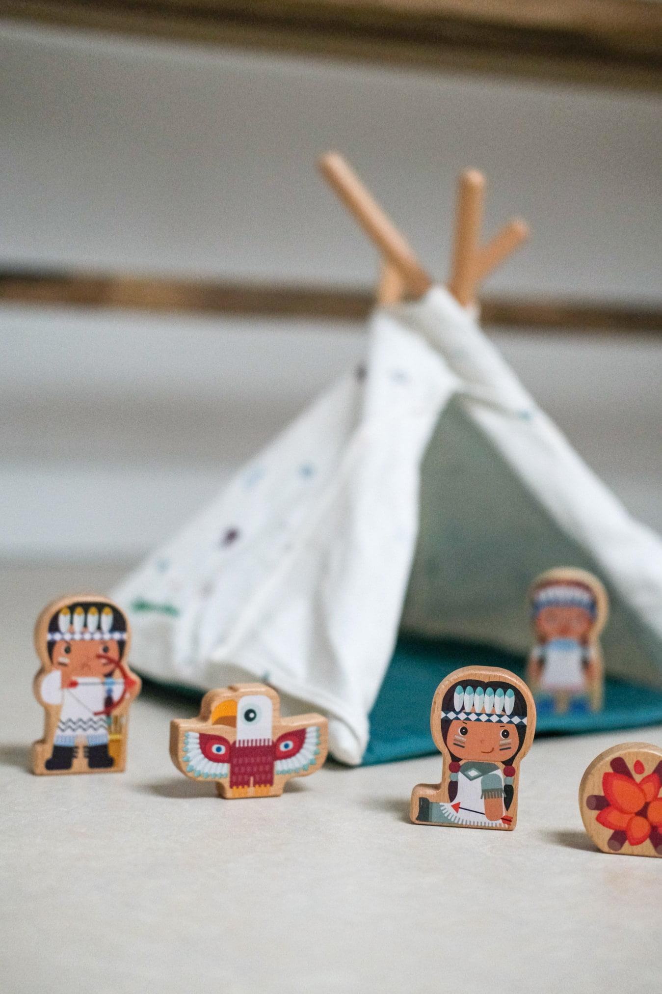 houten speelfiguren lilliputiens
