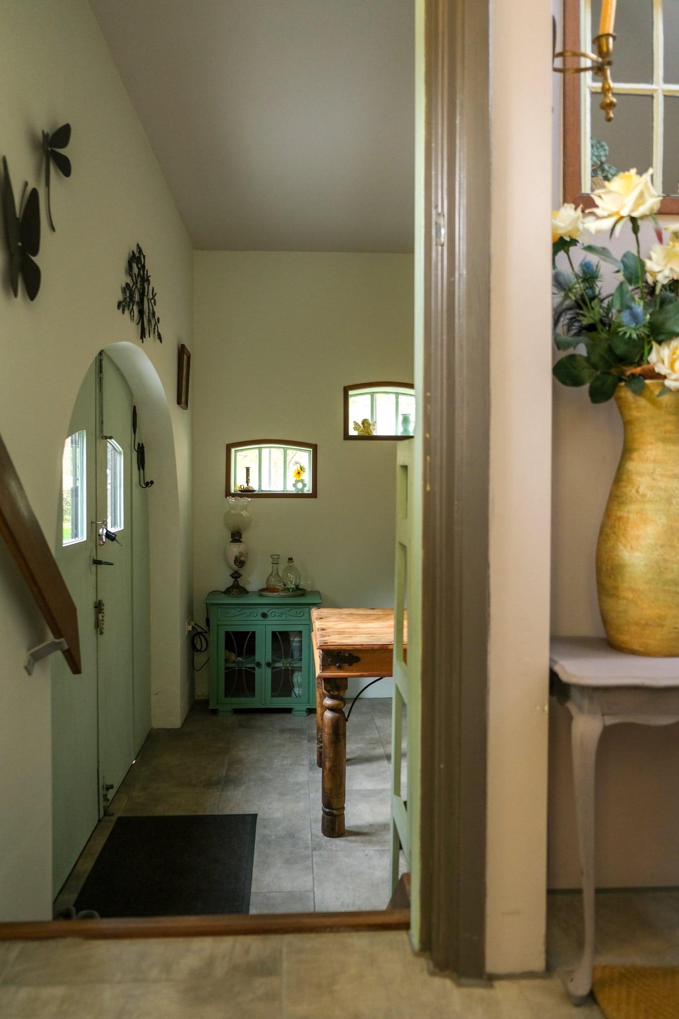 doorkijkje naar keuken accommodatie groningen