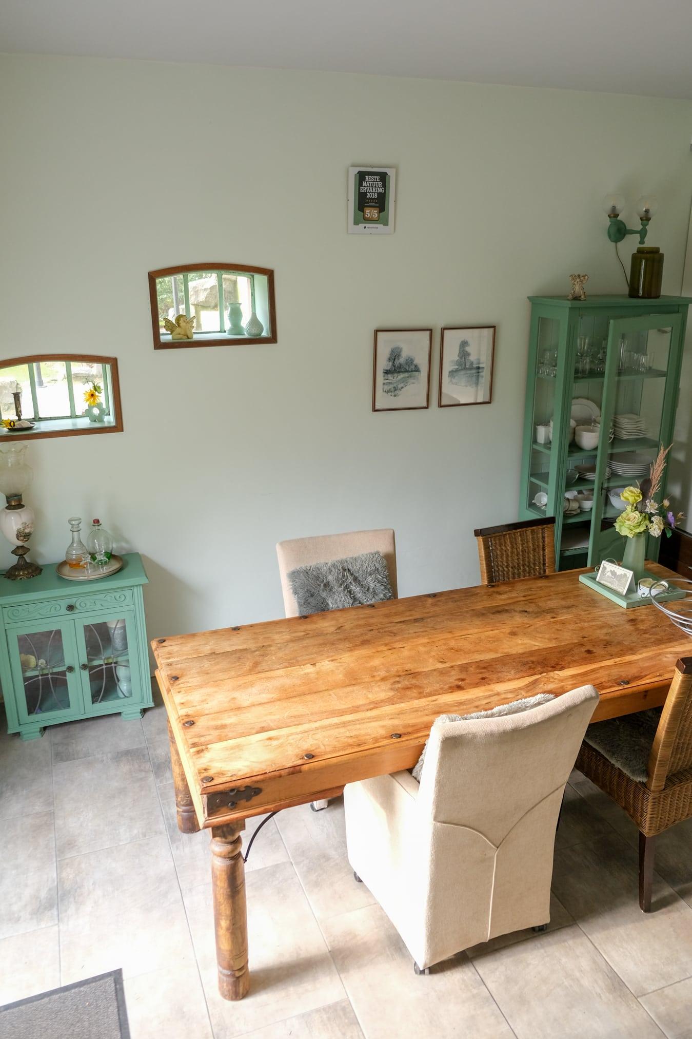 keuken natuurhuisje in groningen