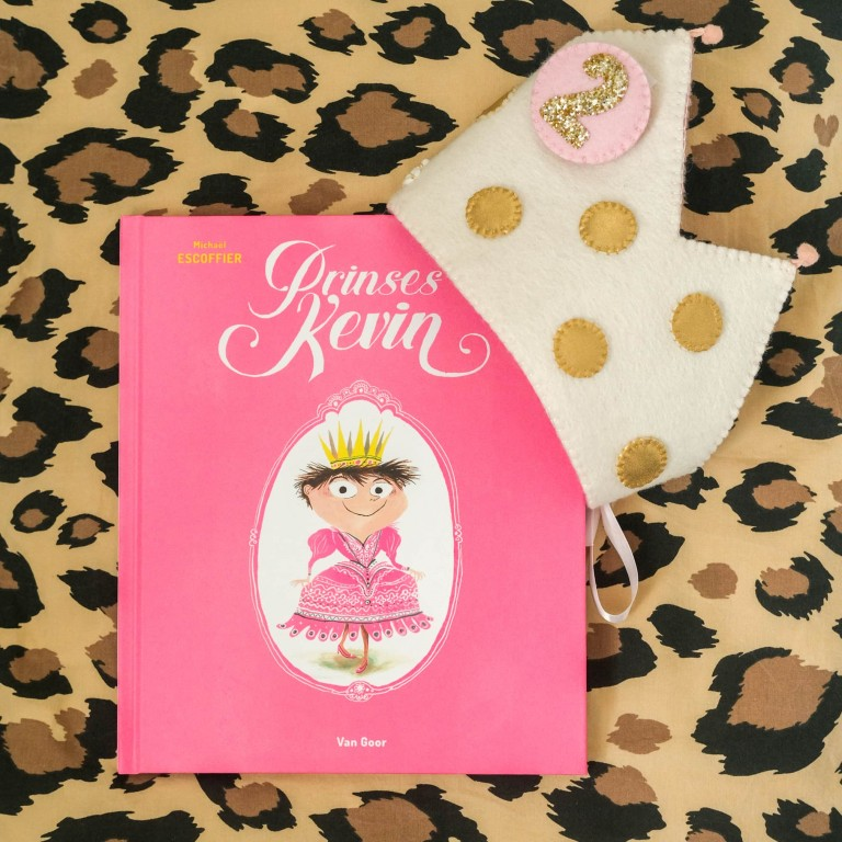 Prinses Kevin. Een prentenboek met krachtige boodschap