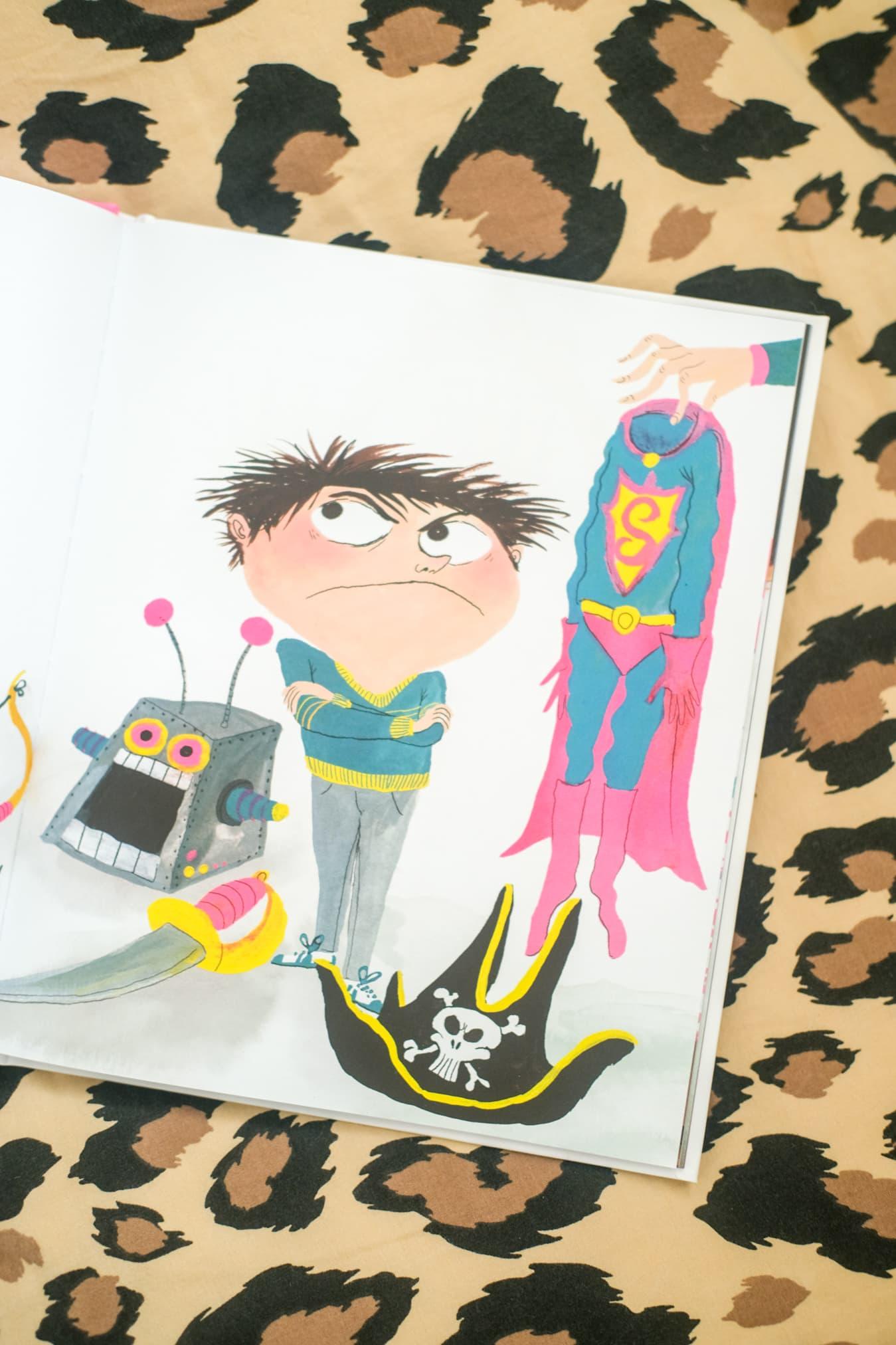 prentenboek jongen jurk