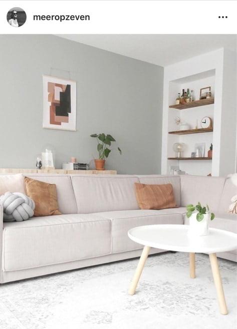 pastel woonkamer instagram