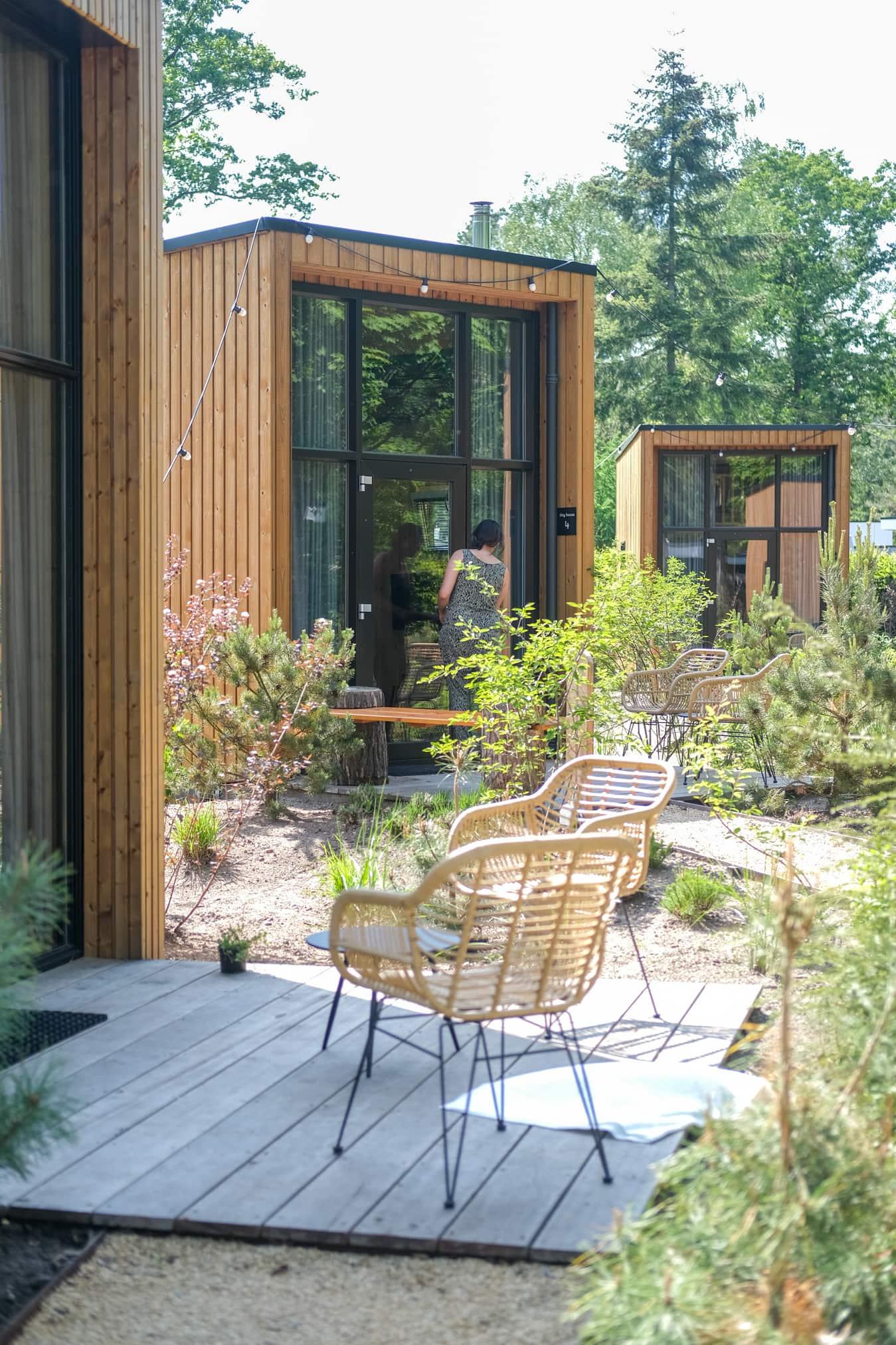 duurzaam overnachten tiny house