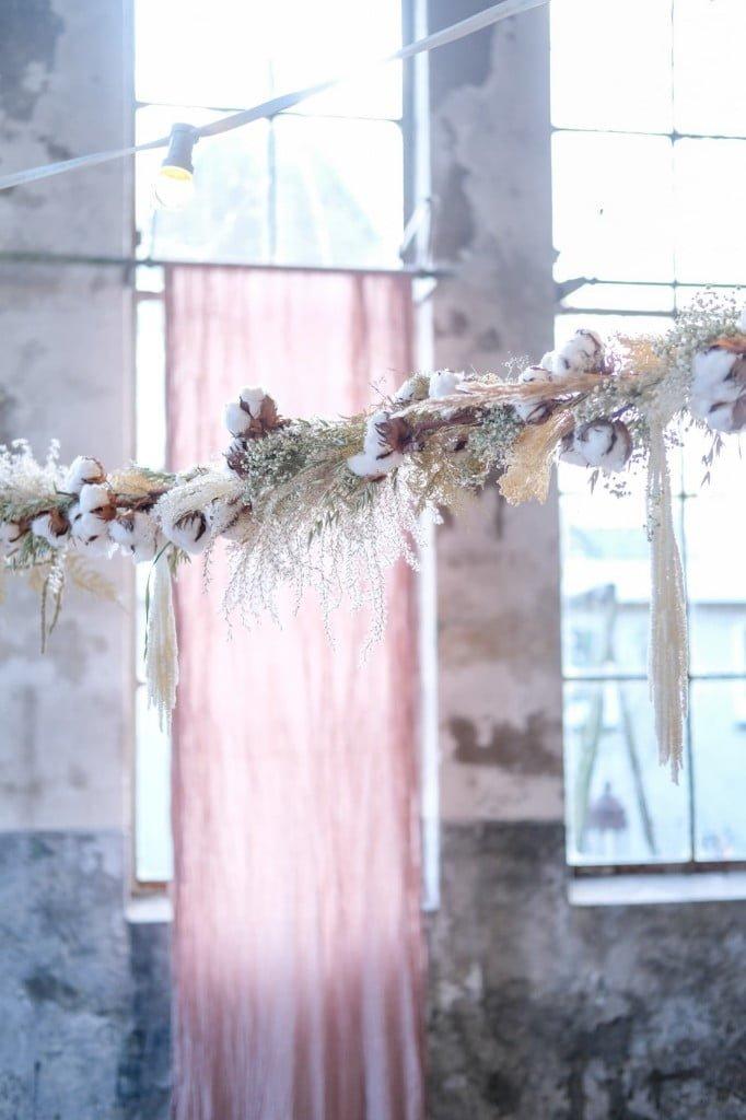 droogbloemen slinger maken