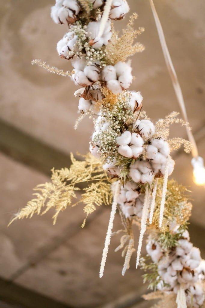 droogbloemen slinger katoen