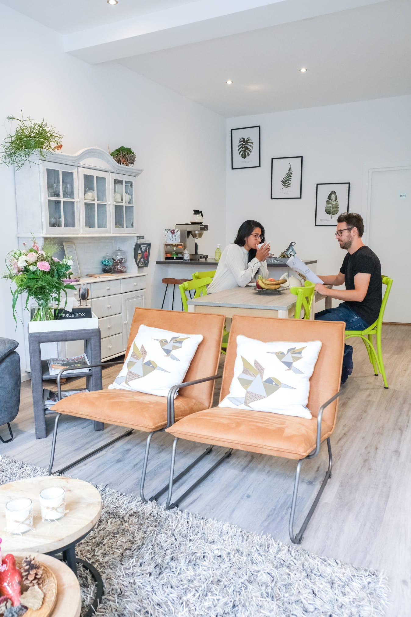 milieuvriendelijke bed and breakfast