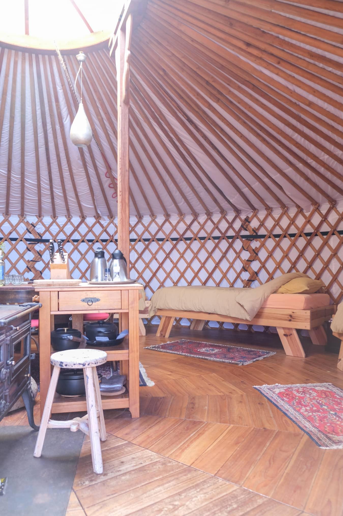 bijzonder duurzaam slapen yurt