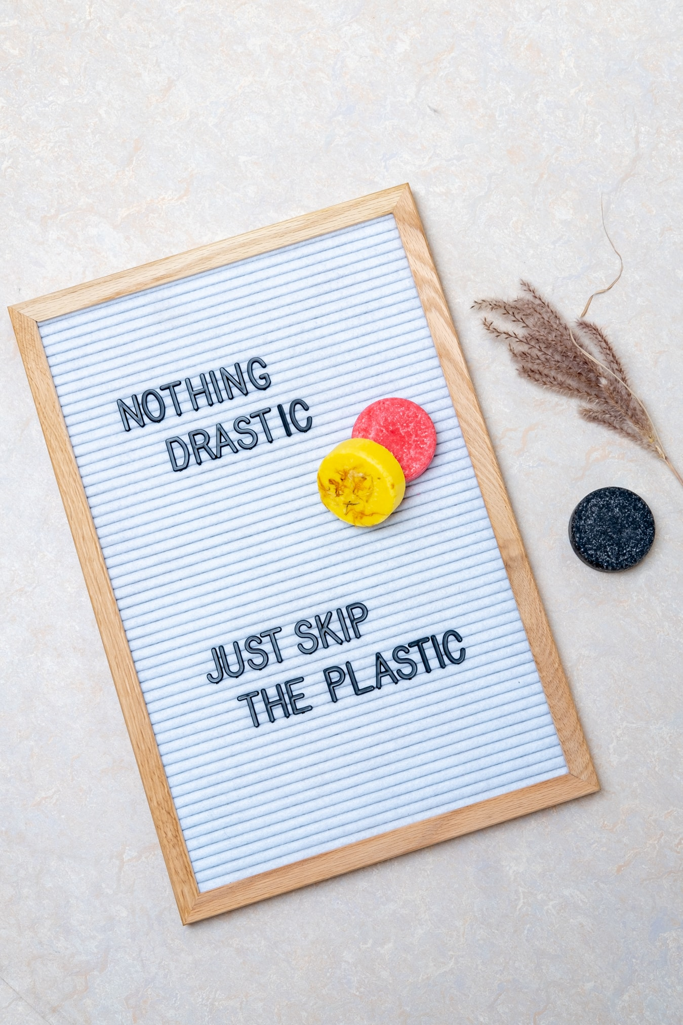 teksten over leven zonder afval