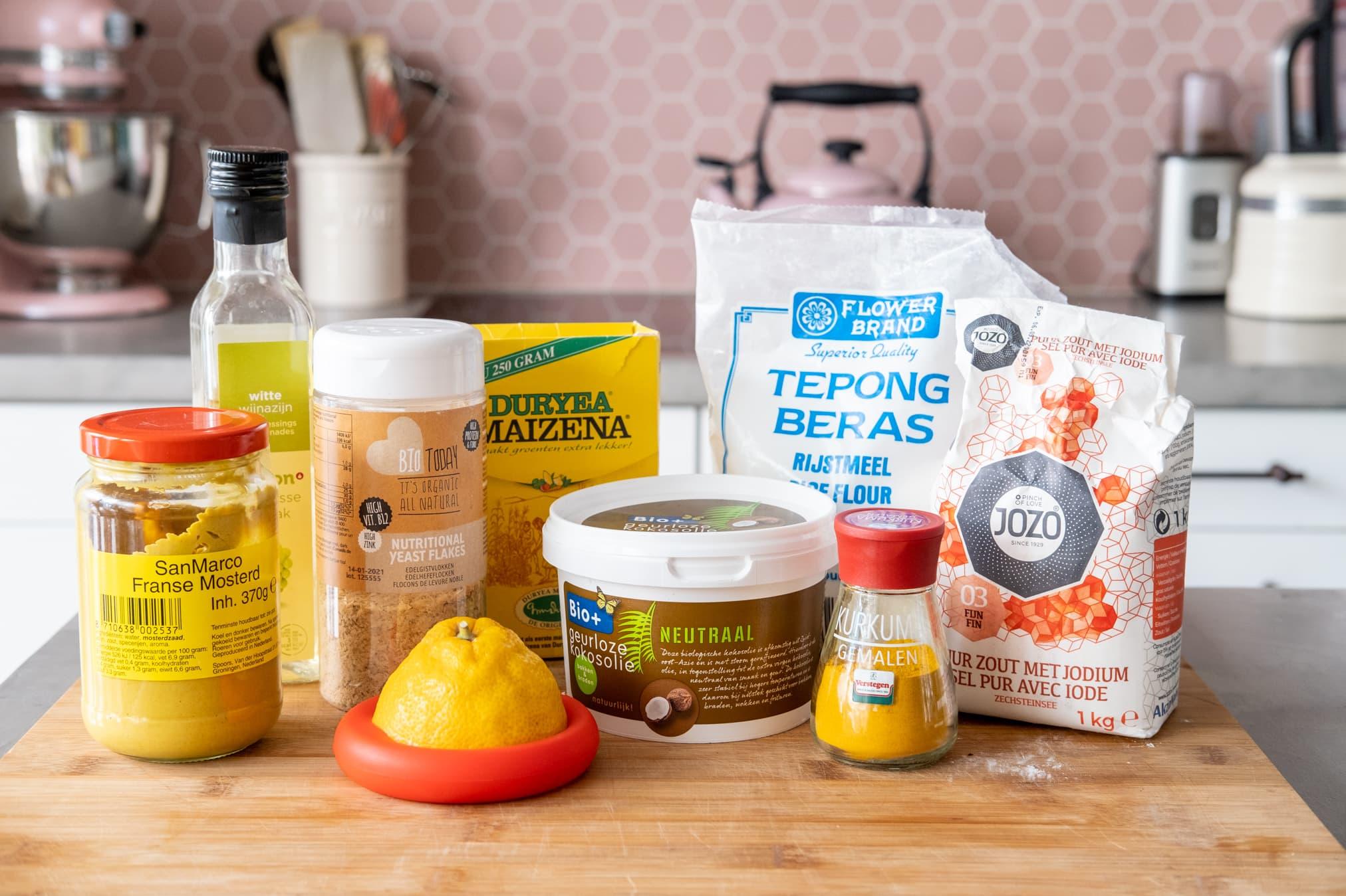 ingredienten vegan kaas