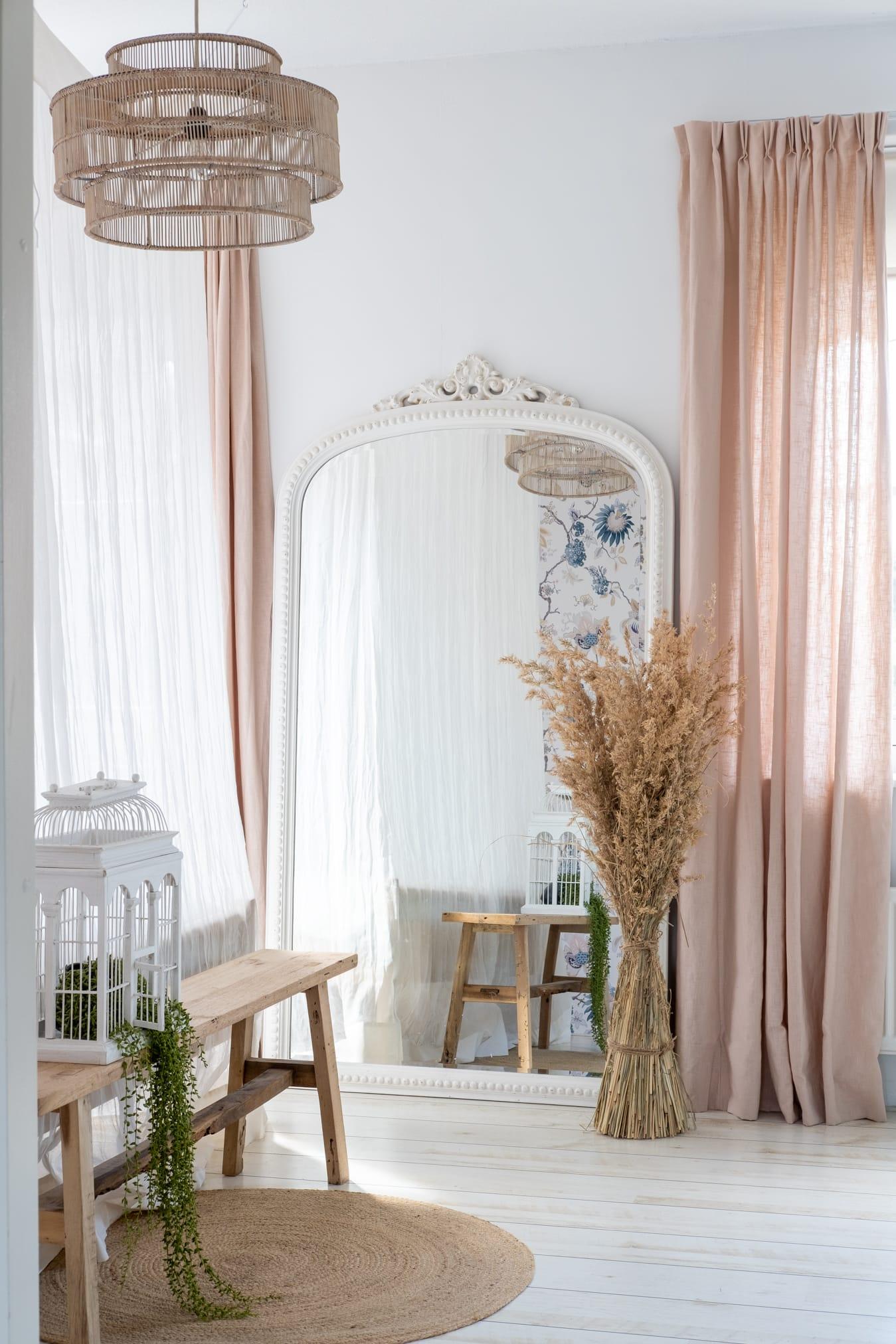 binnenkijker romantische slaapkamer