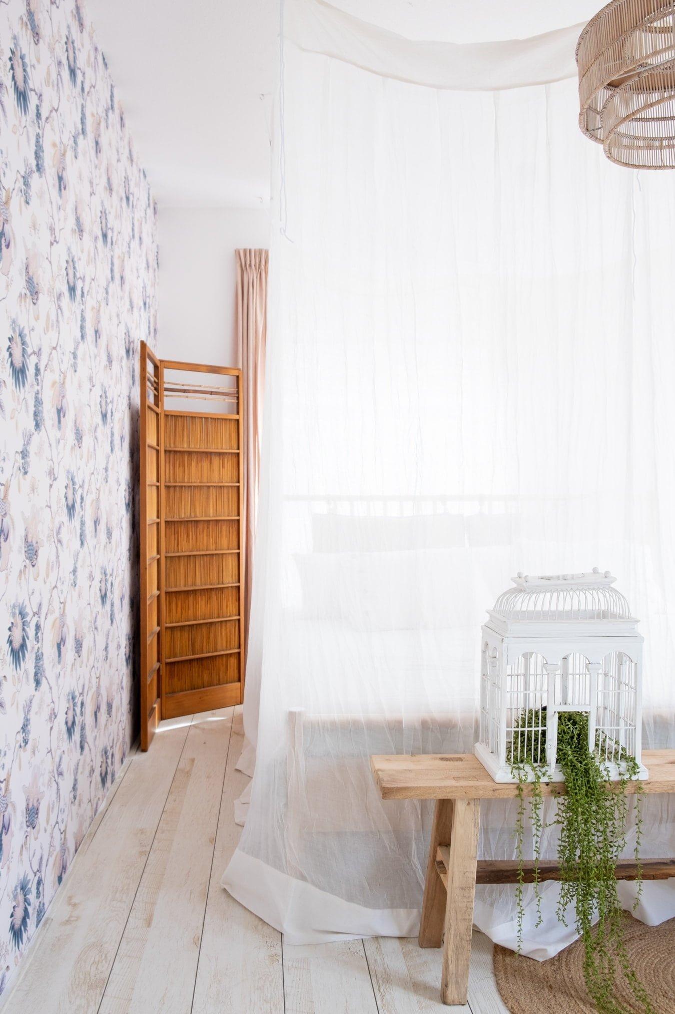 romantisch behang print
