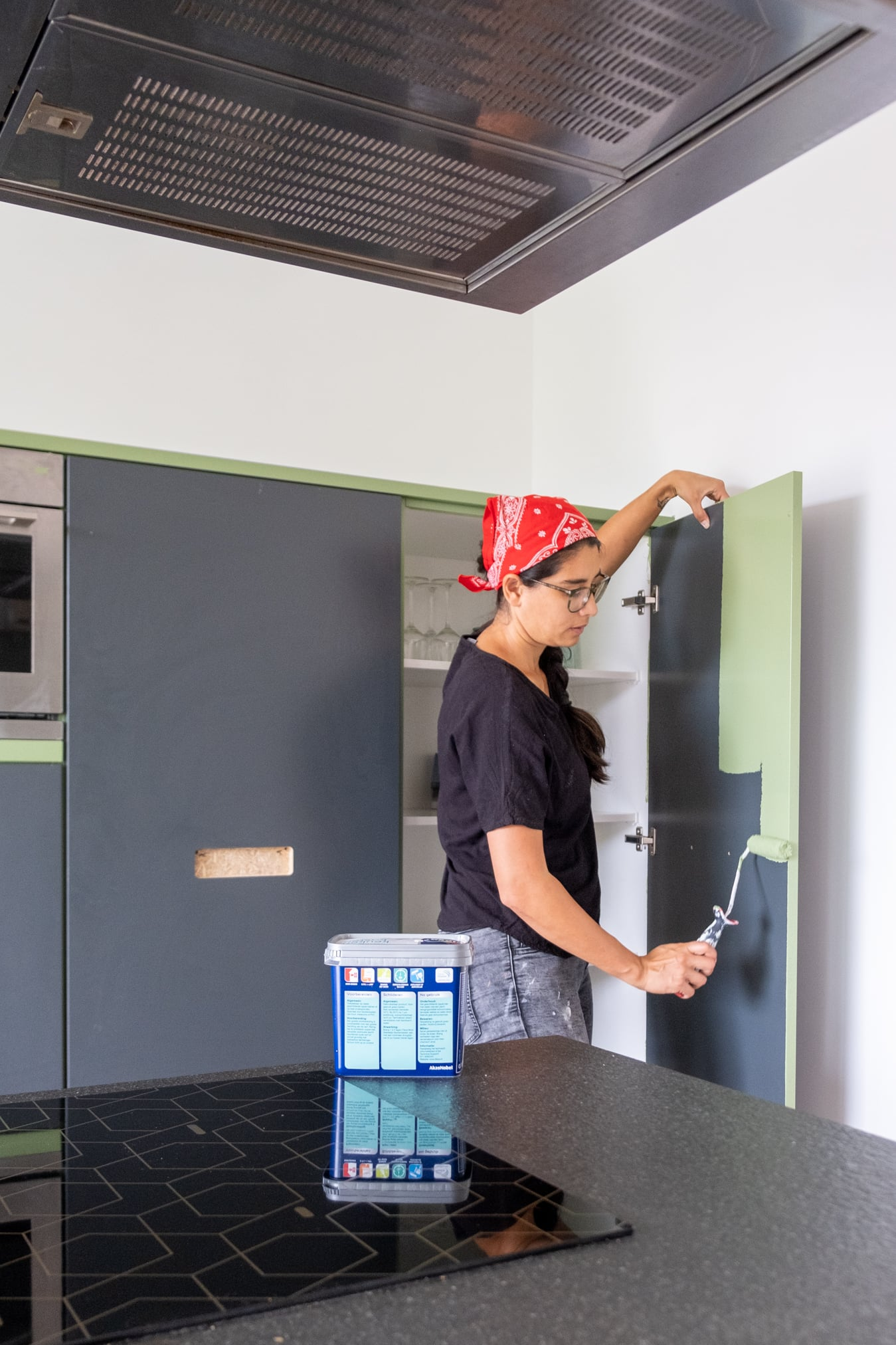 flexa mooi makkelijk keuken groen