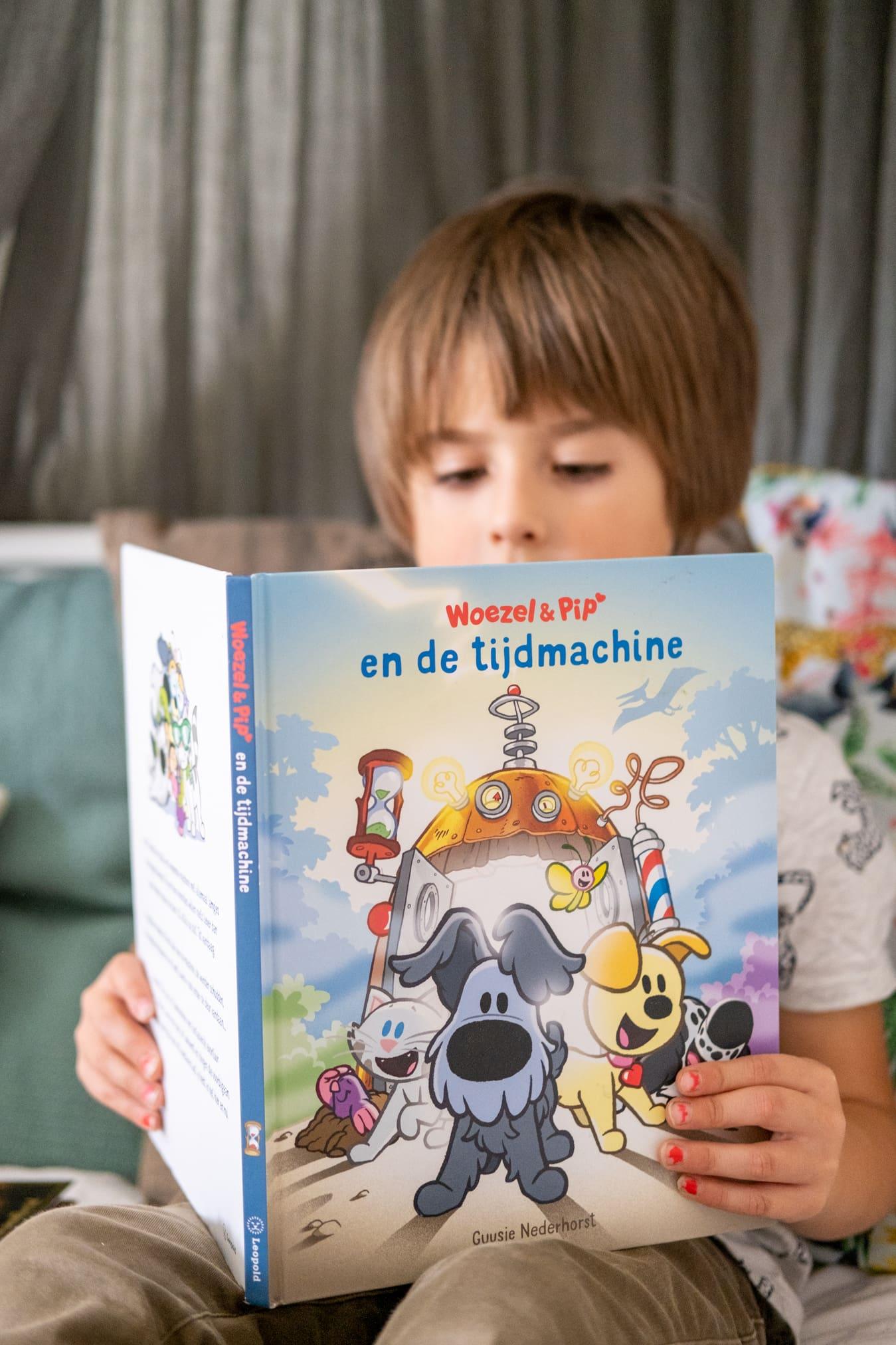 kinderboeken over tijdmachine