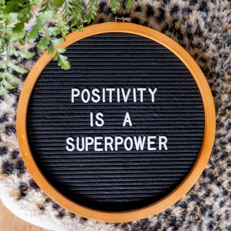 tips voor een positieve mindset